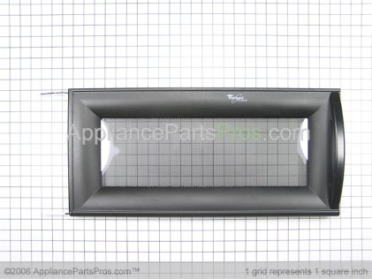 Whirlpool Door, Complete (black) 8205328 from AppliancePartsPros.com
