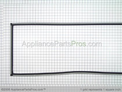 Whirlpool Door Gasket, Magnetic (service) (black) 2159081 from AppliancePartsPros.com