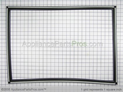 Whirlpool Door Gasket, Magnetic (black) 2177304 from AppliancePartsPros.com
