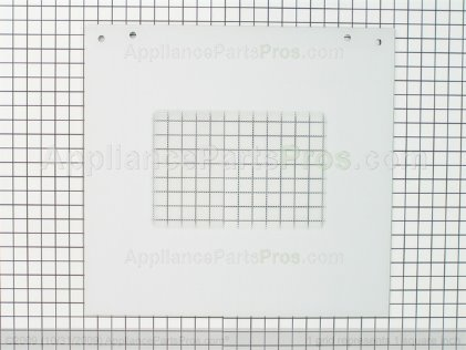 Whirlpool Door Glass, Assembly (white Model) 8300916 from AppliancePartsPros.com