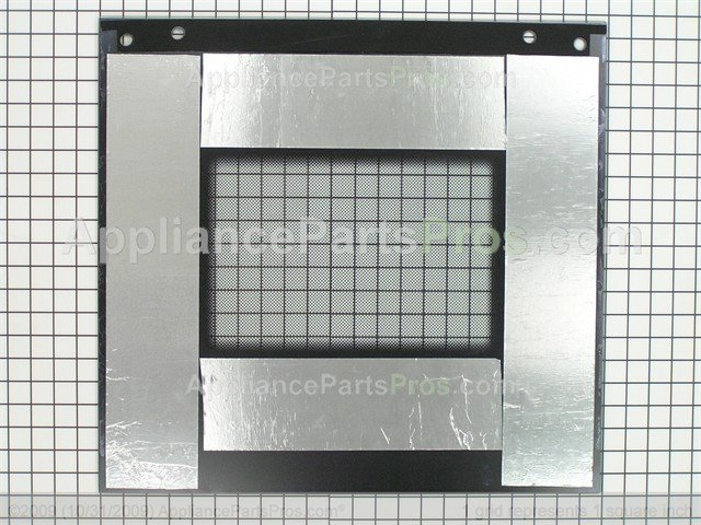 Whirlpool 8300917 Door Glass Assembly Black Model