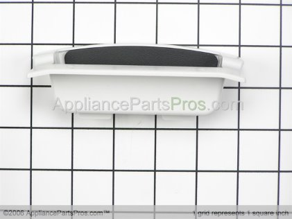 Whirlpool Door Handle Assembly, Left Side (grey) 8529932 from AppliancePartsPros.com