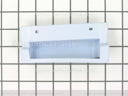 Whirlpool Door Handle Assembly, Right Side (blue) 8529933 from AppliancePartsPros.com