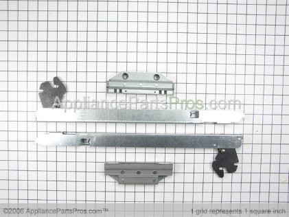 Whirlpool Door Hinge Kit 12002111 from AppliancePartsPros.com