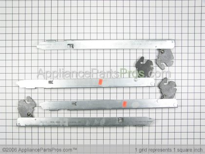 Whirlpool Door Hinge Kit 12002112 from AppliancePartsPros.com