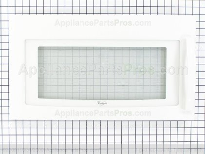 Whirlpool Door/mw White W10211464 from AppliancePartsPros.com