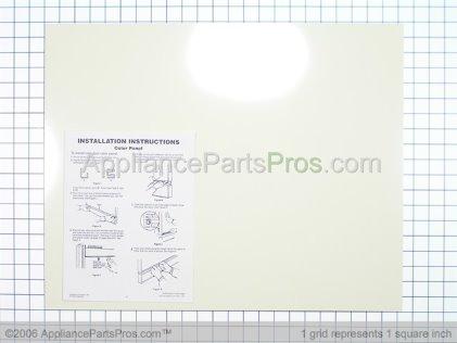 Whirlpool Door Panel, Front (almond/black Models) 3369516 from AppliancePartsPros.com