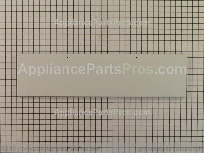 Whirlpool Door Panel (white) 3186087 from AppliancePartsPros.com