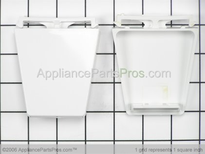 Whirlpool Door Shelf End Cap Kit 4318297 from AppliancePartsPros.com