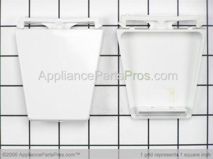 Whirlpool Door Shelf End Cap Kit 4318297 from AppliancePartsPros.com