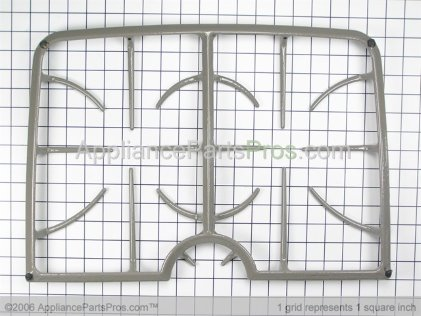 Whirlpool Double Burner Grate 74009084 from AppliancePartsPros.com