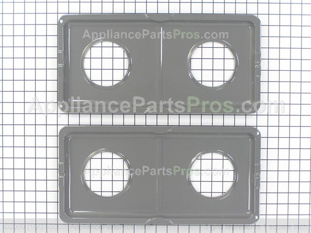whirlpool double drip pan kit dpansg from - Drip Pans