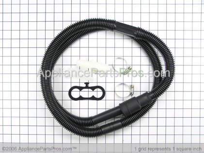 Whirlpool Drain Hose Ext Kit (f 12002482 from AppliancePartsPros.com