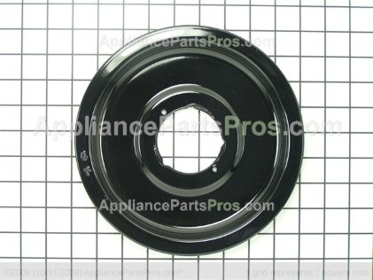 Whirlpool Drip Bowl Blk 3424F002-90 from AppliancePartsPros.com