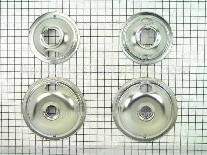 Whirlpool Drip Pan Kit W10278125 from AppliancePartsPros.com
