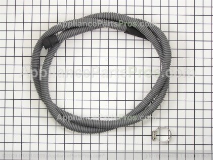 Whirlpool Drn Hose Assembly 12001633 from AppliancePartsPros.com