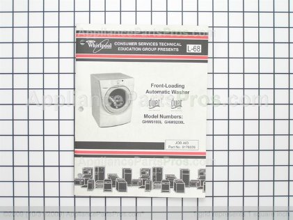 Whirlpool Duet Washer Manual 8178076 from AppliancePartsPros.com