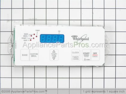 Whirlpool Electronic Range Control Board 6610152 from AppliancePartsPros.com
