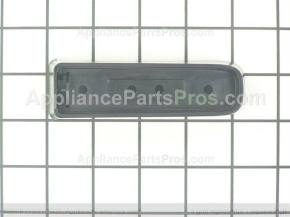 Whirlpool Endcap-Hdl Black W10157436 from AppliancePartsPros.com