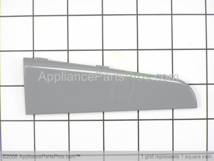 Whirlpool Endcap, Right (pewter) 8182065 from AppliancePartsPros.com