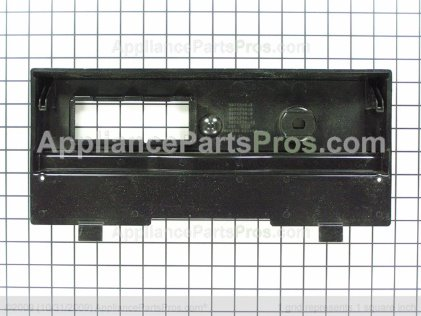 Whirlpool Escutcheon, Control (black) 9871747 from AppliancePartsPros.com
