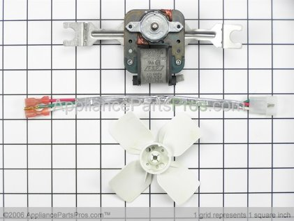 Whirlpool Evaporator Fan Motor Kit 4318017 from AppliancePartsPros.com