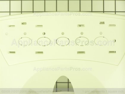 Whirlpool Facade, 5 Button (bs 67004303 from AppliancePartsPros.com