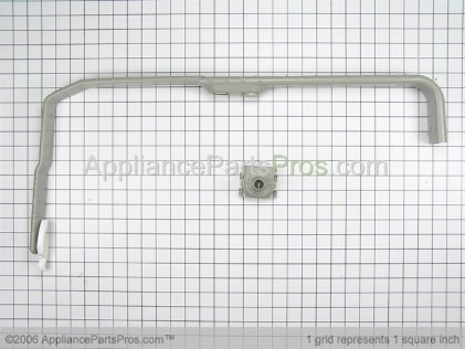 Whirlpool Feed Tube Assembly (also Includes Item 3) 8268361 from AppliancePartsPros.com