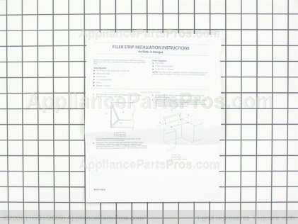 Whirlpool Fill-Kit W10113903A from AppliancePartsPros.com
