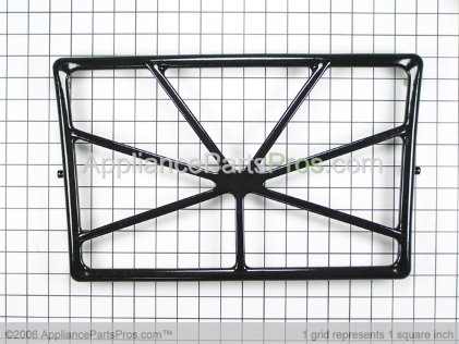 Whirlpool Filler Grate (black) 3191280 from AppliancePartsPros.com