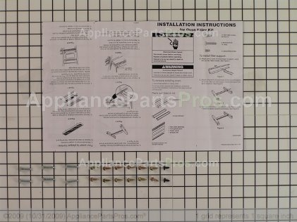 Whirlpool Filler Kit (bl) 4378944 from AppliancePartsPros.com