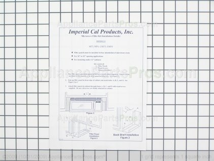 Whirlpool Filler Kit (black) 8171337 from AppliancePartsPros.com