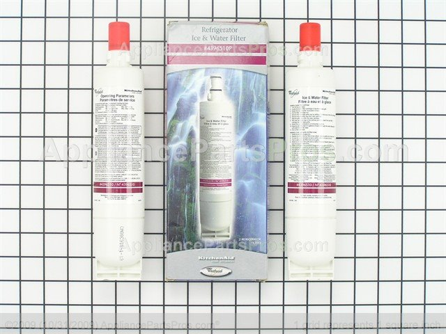 Whirlpool 4396510p Refrigerator Water Filter 2 Pack
