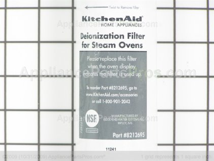 Whirlpool Filter 8212695 from AppliancePartsPros.com