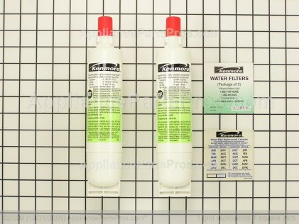 Whirlpool Refrigerator Water Filter 2 Pack 9010P from AppliancePartsPros.com