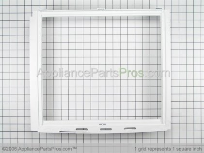 Whirlpool Frame, Crisper Shelf 67004140 from AppliancePartsPros.com