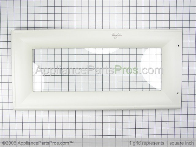 Whirlpool 8185285 Frame Outer Includes Glass Biscuit