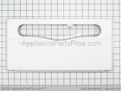 Whirlpool Front Assy., Crisper Pan 61005239 from AppliancePartsPros.com