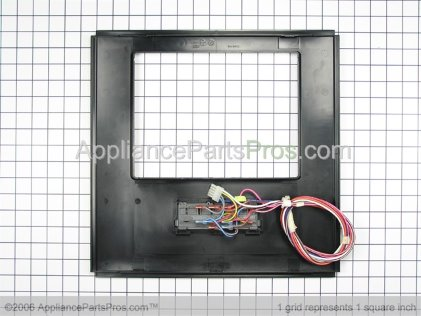 Whirlpool Front Cover Assembly (black) 2219797B from AppliancePartsPros.com