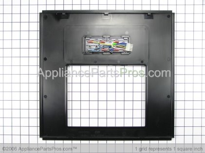 Whirlpool Front Cover Assembly (black) 2219821B from AppliancePartsPros.com