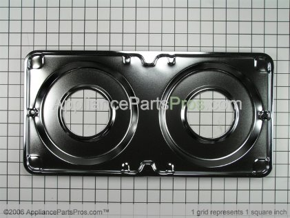 Whirlpool Gas Double Drip Pan 4389384 from AppliancePartsPros.com