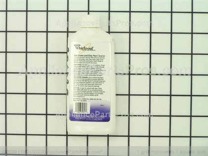 Whirlpool Gas Grate and Grill Cleaner 31617A from AppliancePartsPros.com