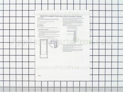 Whirlpool Gasket-Fip 8201809 from AppliancePartsPros.com