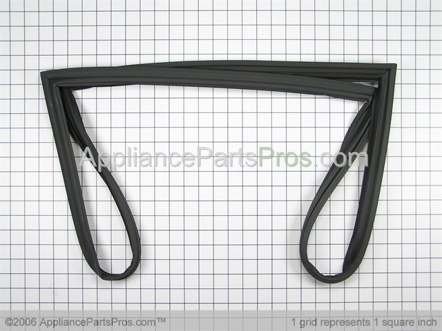 freezer door gasket. whirlpool freezer door gasket wp12550101q from appliancepartspros.com
