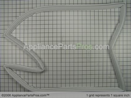 Whirlpool Gasket, Ref Door Wht 67003552 from AppliancePartsPros.com