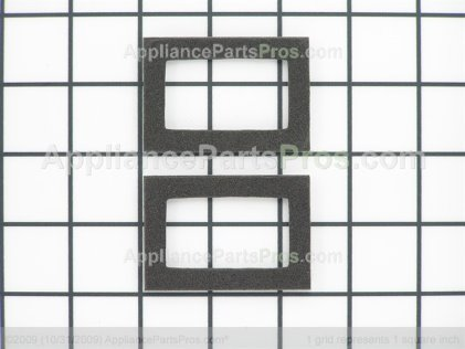 Whirlpool Gasket, Vent Box (upr) 74004533 from AppliancePartsPros.com