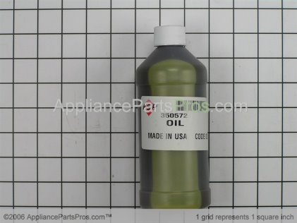 Whirlpool Gear Case Oil 350572 from AppliancePartsPros.com