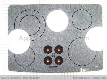 Whirlpool Glass Assy.white 71002471 from AppliancePartsPros.com
