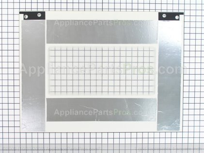 Whirlpool Glass, Door Front (biscuit) 9759640 from AppliancePartsPros.com