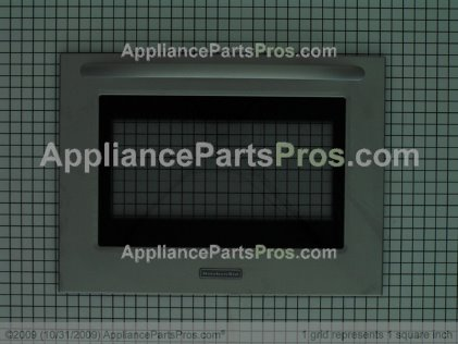 Whirlpool Glass-Door W10155557 from AppliancePartsPros.com
